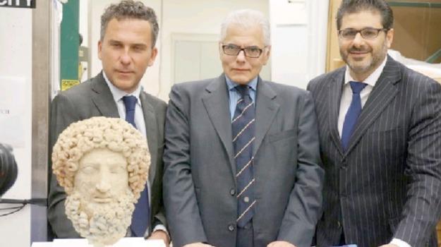 arte, Morgantina, testa di ade, Sicilia, Cultura
