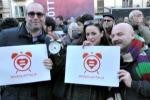 Unioni civili, famiglie e studenti in piazza a Palermo - Video