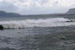 Forti raffiche di vento e mare agitato a Palermo - Video