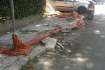 Marciapiedi distrutti a Palermo, passeggiate ad ostacoli nella zona di Villa Tasca