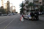 Incidente tram-auto a Palermo, il luogo dello scontro