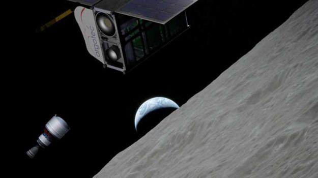 drone dello spazio, luna, Sicilia, Vita