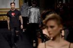 Fabrizio Corona modello per Rocco Barocco: la sfilata