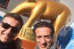 Ficarra e Picone tornano a Striscia: il selfie dei due comici dagli studi di Milano
