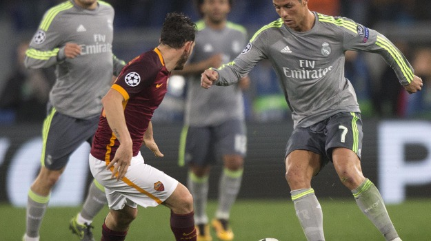 Calcio, champions league, real madrid, roma, Sicilia, Sport