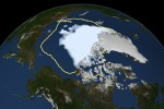 Clima, l'allarme del Noaa: il ghiaccio dell'Artico è ai minimi storici