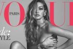 Cover da urlo per Gigi Hadid: la modella nuda su Vogue - Foto