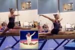Giovane ginnasta inventa una nuova spaccata: eccola - Video