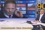 In attesa prima dell'intervista, Mihajlovic s'infuria in diretta tv