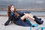 Kaia Gerber, a soli 14 anni la figlia di Cindy Crawford conquista la sua prima campagna di moda - Foto
