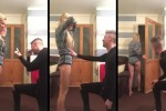 Chiede alla sua ragazza di sposarlo ma è uno scherzo: il video