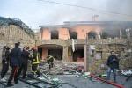 Esplosione in villa: Gabriel Garko in ospedale, muore anziana - Le foto