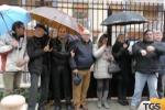 A Palermo la protesta degli ex sportellisti