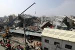 Terremoto devasta città a sud di Taiwan, crolla edificio di 17 piani