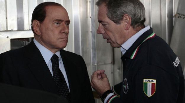 elezioni, roma, Guido Bertolaso, Silvio Berlusconi, Sicilia, Politica