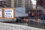 Tecnis, ripartono i lavori: le immagini dal cantiere di via Amari - Video