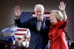 """La Clinton porta in squadra il marito: """"Se eletta, Bill avrà incarico economico"""""""