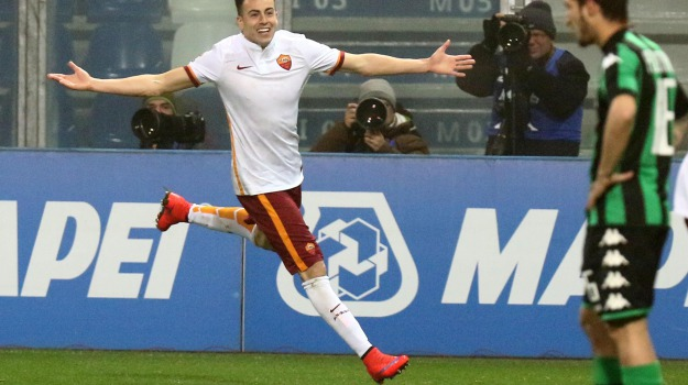 campionato, classifica, sassuolo-roma, SERIE A, Luciano Spalletti, Mohamed Salah, Stephan El Shaarawy, Sicilia, Sport