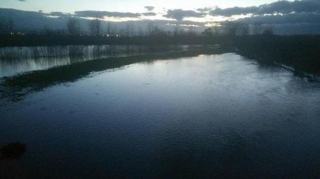 danni, fiume, frane, Maltempo, Sicilia, Cronaca