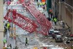 Paura a Manhattan, gru crolla nell'ora di punta: un morto e 15 feriti - Le foto
