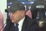 """Palermo, Iachini: """"Dobbiamo essere ottimisti, nessuno ha la bacchetta magica"""" - Video"""