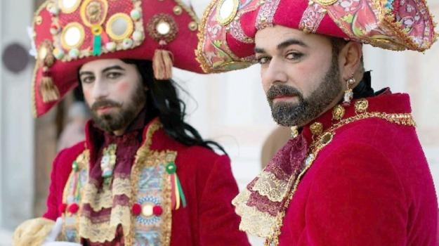 carnevale, carretto siciliano, maschere, Sicilia, Cultura