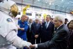 Il presidente della Repubblica Sergio Mattarella allo Space Center della Nasa a Houston
