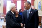 """Mattarella da Obama: """"Per la Libia collaborazione decisiva"""""""