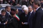 Inaugurazione dell'anno accademico con Mattarella: accolto da applausi