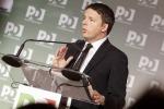 """Renzi: """"Il reddito di cittadinanza? Un'elemosina di Stato"""""""
