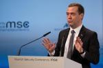 Il premier russo Medvedev