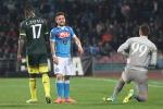 Il Napoli si inceppa con un Milan tosto Controsorpasso fallito, Juve prima