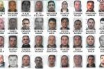 Mafia, maxi-blitz a Catania con 109 ordinanze: i nomi e le foto