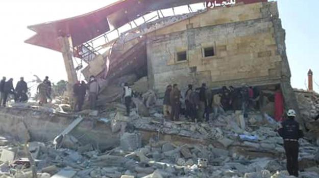 Damasco, guerra, raid governativi, Siria, vittime civile, Sicilia, Mondo