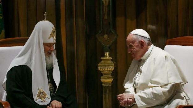 Chiesa, migranti, ortodossi, pace, papa, vaticano, Papa Francesco, Sicilia, Cronaca