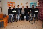 Palermo, la polizia dona bici a comunità alloggio di San Lorenzo