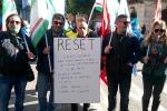 Riduzione dell'orario di lavoro manifestazione Reset a Palermo