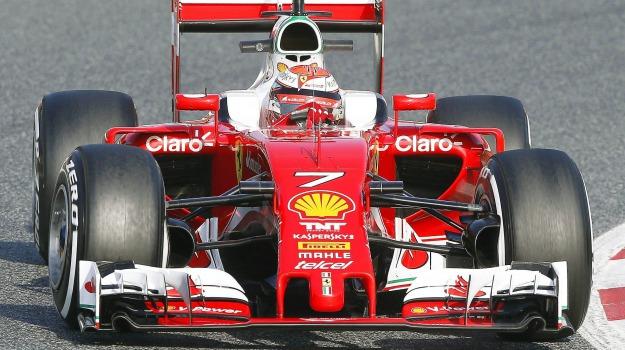 Ferrari, formula uno, Kimi Raikkonen, Sicilia, Sport