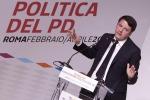 """Immigrazione, Renzi: """"Diamo asilo a chi lo merita e impieghiamoli in lavori utili alla comunità"""""""