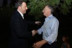 """Renzi: """"Europa ferma, servono risposte coraggiose"""""""