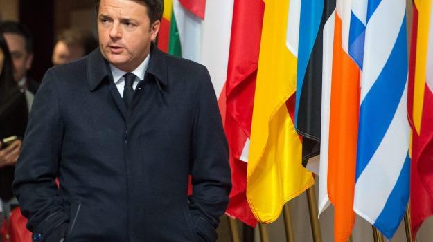 Consiglio Europeo, immigrazione, migranti, Matteo Renzi, Sicilia, Politica