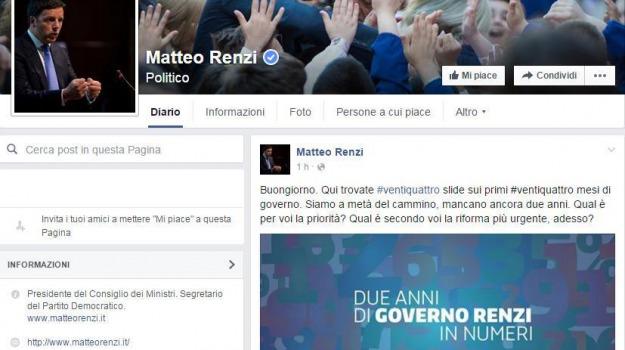 due anni, governo, premier, presidente del consiglio, Matteo Renzi, Sicilia, Politica