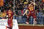 Super El Shaarawy e Pjanic: Roma terza per una notte