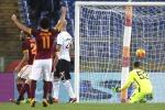 Notte da incubo per il Palermo, vince la Roma 5-0