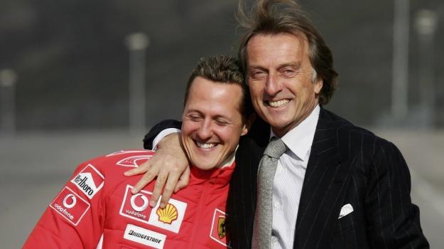 Luca Cordero di Montezemolo, Michael Schumacher, Sicilia, Sport