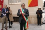 Intitolata una strada a Enzo ed Elvira Sellerio a Palermo, le immagini della cerimonia - Video