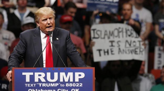 usa 2016, Donald Trump, Sicilia, Mondo