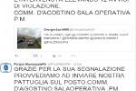Auto in doppia fila e caos? A Palermo tweet alla polizia municipale