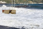 Forte vento e disagi a Messina e provincia: Eolie isolate
