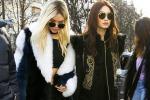 Kendall Jenner e Gigi Hadid si scambiano colore di capelli alle sfilate parigine